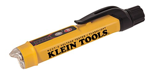 Klein Tools NCVT-3 Voltage Tester, Non-Contact Dual Range Voltage Tester Pen for AC Testing with Integrated Flashlight