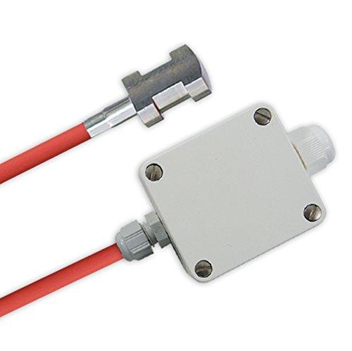 Anlegefühler Aktiv Messumformer / 0-10V Spannung oder 4-20mA Strom Ausgang, 2 Meter
