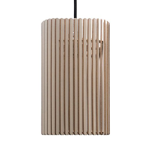 farbflut Design Suspension Columna - Suspension en bois - Design moderne - Plusieurs couleurs disponibles