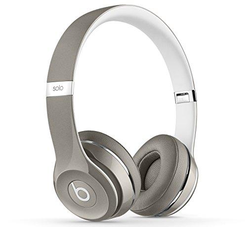 Beats Solo2 Luxe Edition - Auriculares de diadema abiertos,  Gris (Silver)