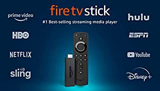 Fire TV Stick streaming media player with Alexa built in, includes Alexa Voice Remote, HD, easy set-up, released 2019 (B0791TX5P5) | Amazon price tracker / tracking, Amazon price history charts, Amazon price watches, Amazon price drop alerts