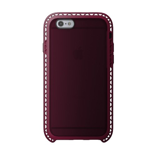 Lunatik SEISMIK - Carcasa para Apple iPhone 6, negro rosa