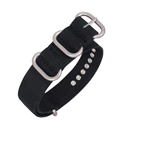 Cinturino in tela NATO regolabile con fibbia in acciaio inox 304...