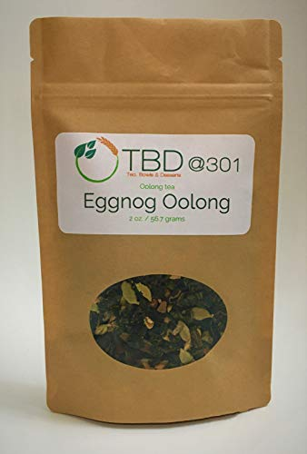 Eggnog Oolong Tea | Herbal Tea | All Natural | Blend with Oolong tea, Cinnamon, Cloves, Ginger, Cardamom, Black Pepper, Fennel, Coriander, Natural Flavoring | Eco-Friendly Kraft Bag | by TBD @ 301
