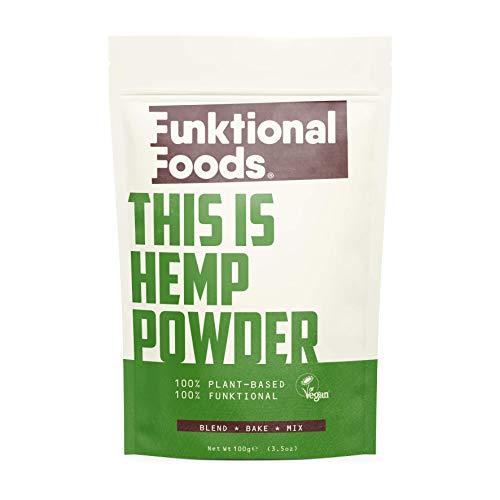 Funktional Foods Hemp Protein Powder 100g