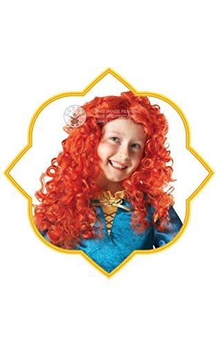 Disney parrucca Bambino Merida Brave.