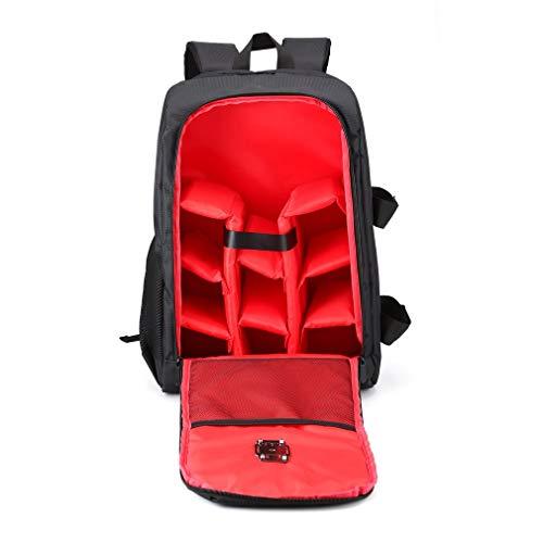 OUYBO FPV Racing Drone Zaino Carry Bag Outdoor Portable Aircraft Case Borsa a tracolla per Multirotor RC Aereo Fisso Wing Accessori telecomando accessori batteria (Colore: Rosso)