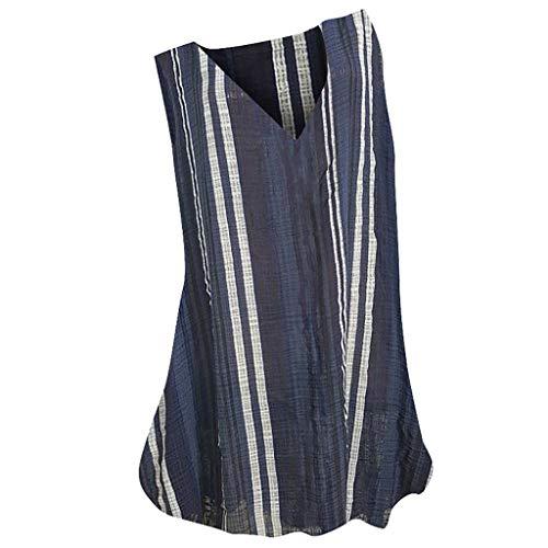 Best Bargain Toimothcn Vintage Tank Tops for Women Plus Size Vest Tops Loose Floral Print V-Neck Ves...