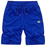 Vcansion Men's Outdoor Lightweight Hiking Shorts Quick Dry Sports Casual Shorts Skateboard Shorts Blue Tag 2XL/34-36