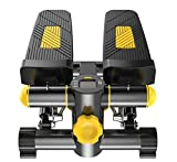 FGSJEJ Laufband Gewichtsverlust Maschine Treppe Stepper Stand Up Heimtrainer Mini Ellipsentrainer Stepper Pedal w/Einstellbarer Widerstand und LCD-Display Fitness-Heimtrainer -