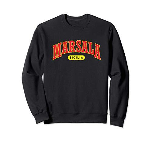 Sizilianischer Stolz - Universität Stil Marsala Sweatshirt