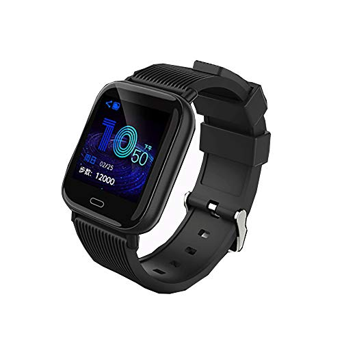 GBHN multifunctionele smartwatch, outdoor smart, externe camera, smart-stappenteller, waterdicht IP67-1,3 inch HD-groot scherm, 50 meter diep, waterdicht, size, zwart