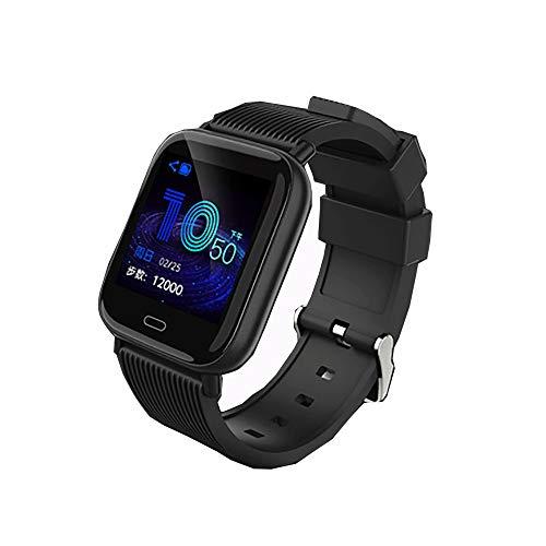 GBHN multifunctionele smartwatch, outdoor smart, externe camera, smart-stappenteller, waterdicht IP67-1,3 inch HD-groot scherm, 50 meter diep, waterdicht, size, zwart