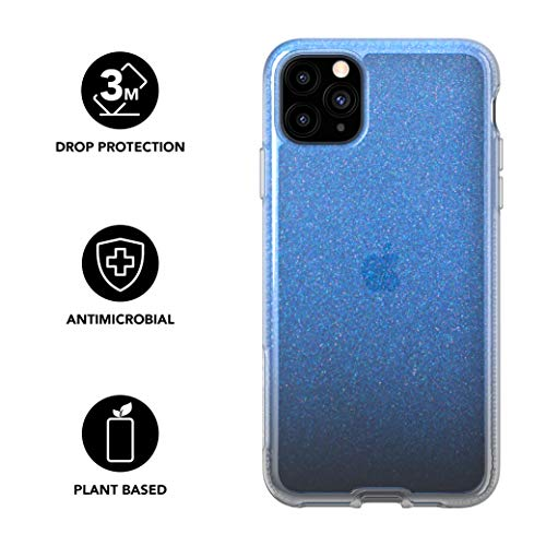 Tech21 Pure Shimmer iPhone 11 Pro Max Protective Phone Case - Blue