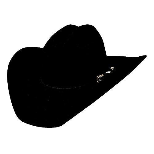 Bullhide Hats Back Roads 6X Premium Wool Felt Western Cowboy Hat Black ec408da075e3