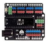 RobotDyn - Nano I/O Expansion Shield, for Arduino Nano V3 pinout. (Assembled)