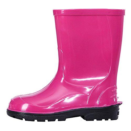 Lemigo OLI Wellington laarzen voor kinderen, Farbe:Pink;Größe:28