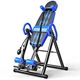 Popsport Premium Foldable Gravity Inversion Table Back Therapy Fitness...