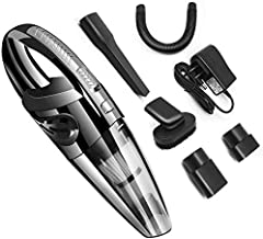 WEHOLY Car Cleaning 12V100W3000PA Wet and Dry Vacuum Cleaner Wireless Household car Dual-use Small Rechargeable Handheld H...