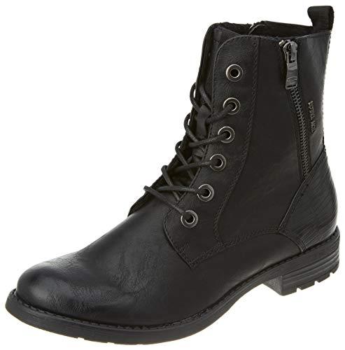 TOM TAILOR Damen 9093303 Halblange Stiefel, Schwarz (black), 38 EU