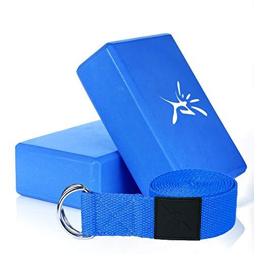 Yogakussen, fitness, baksteen, yoga-uitrusting, EVA-blok, pilates, pak, baksteen, riem voor het vermogen van het spel, gemaakt van schuimrubber voor training, sport, baksteen, yogamat, stretching