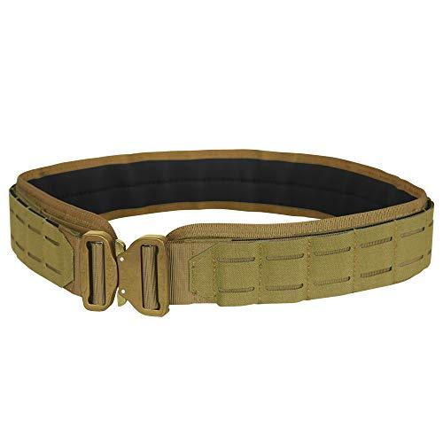 Condor Outdoor LCS Cobra Tactical Belt 121175 (Coyote Brown, Medium/Large: 40.5 - 44.5