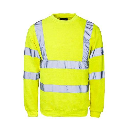 SuperTouch 56845Hi Vis sudadera, talla XXL), color amarillo