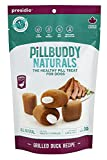 Pill Buddy Naturals, Grilled Duck Recipe for Dogs, 1 Pack, 30-Count