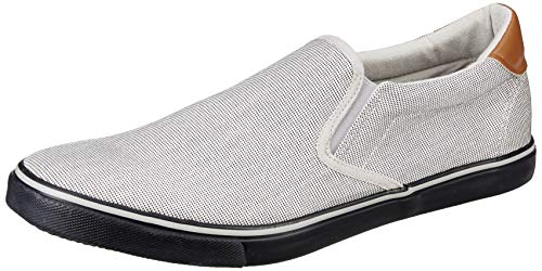 Amazon Brand - Symbol Men's Grey/Blue Sneakers-8 UK/India (42 EU) (AZ-YS-139A)