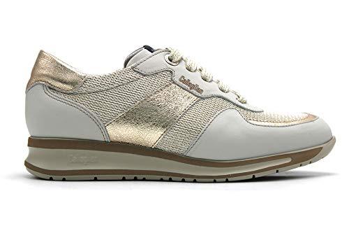 Callaghan - Zapato Deportivo Casual, Sneakers Con Cordones, Zapatillas Cuña Y Plataforma. Fabricado...