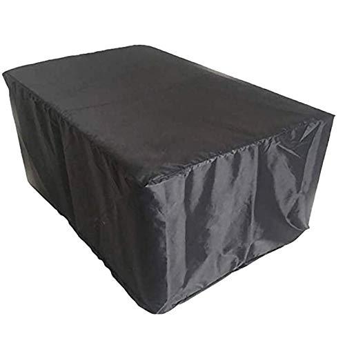 QIAOH Funda para Muebles De Jardín 230x165x80cm, Protectora para Mesas De Jardín Funda Muebles Terraza Rectangular Juego De Muebles, para Mesa Y Silla para Patio