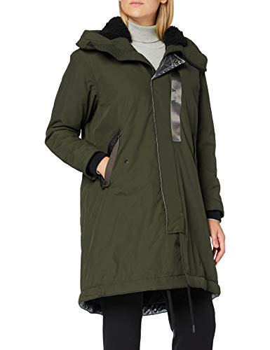 G-STAR RAW Womens HDD pdd Fishtail wmn Parka, Grau (Asfalt A281-995), Small