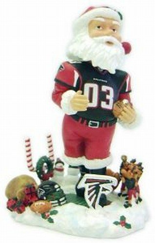 Atlanta Falcons Santa Claus Forever Collectibles Bobble Head by Forever Collectibles