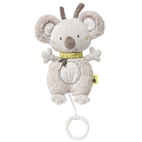 Fehn 064018 Spieluhr Koala / Kuscheltier mit integriertem Spielwerk mit sanfter Melodie zum Aufhängen an Kinderwagen, Babyschale oder Bett, für Babys und Kleinkinder ab 0+ Monaten, Koala, Australia
