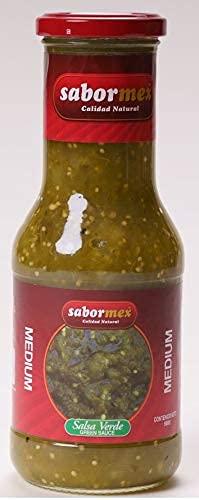 SALSAS MEXICANAS (Salsa Verde, 500 gr)