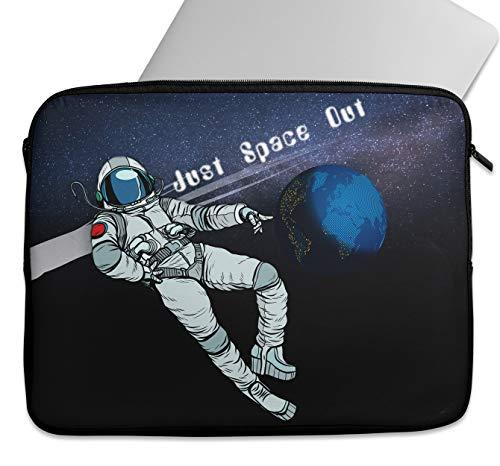 """Space Astronaut Art - Funda para tablet de 9 a 15,6 pulgadas, funda protectora para ordenador con cremallera, compatible con MacBook Hp Lenovo, Dell, Acer Samsung Universal (9-10"""")"""