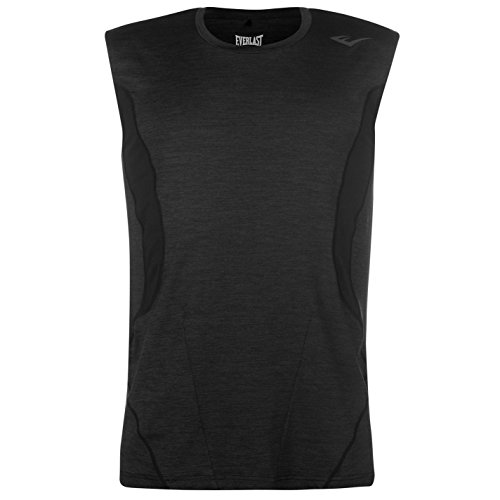 Everlast Herren Tr Tank Training Top Black Marl S