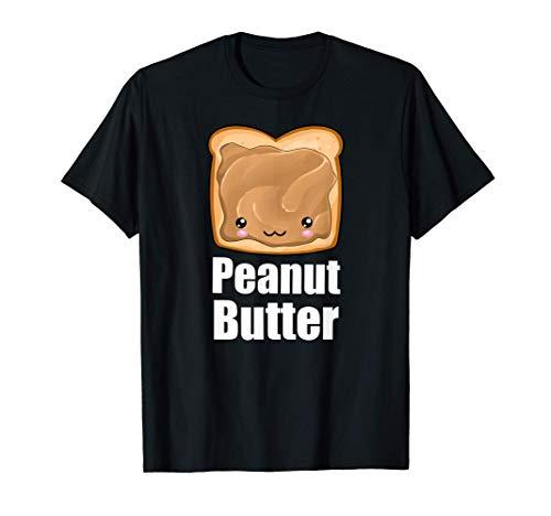 Kawaii Peanut Butter Jelly PB&J Halloween Matching BFF Shirt T-Shirt