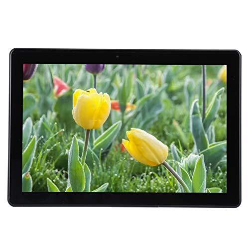 Gaeirt Tableta telefónica de 10 Pulgadas, Tableta Full IPS HD de 1080p, Tarjetas SIM Dobles de Llamada 3G / 4G, Modo de Espera prolongado, CPU de 8 núcleos, Chip de Alta especificación(Plata) (EU)