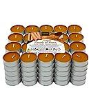 Lumar Aromatic Velas de té aromáticas (Canela en Rama Pack 100 Velas)