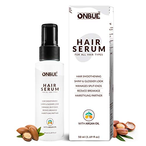 Onbue Hair Serum With Argan Oil For Non-Greasy Glossier Hair | 50 ml