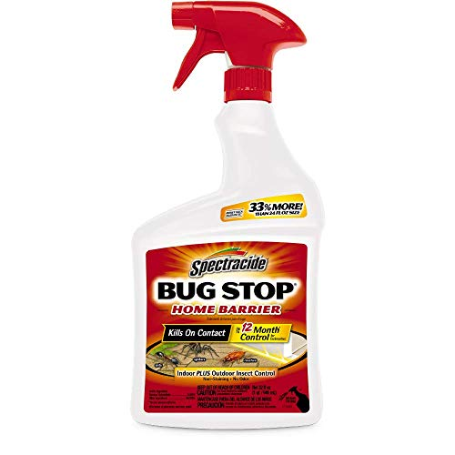 Spectracide Bug Stop Home Barrier Spray,...