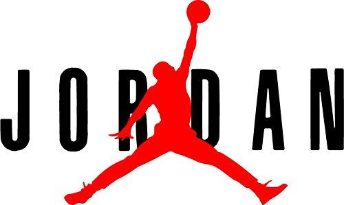 AIR Jordan Flight 23 Jumpman Logo NBA Huge Vinyl Decal Sticker for Wall Car Room Windows (6