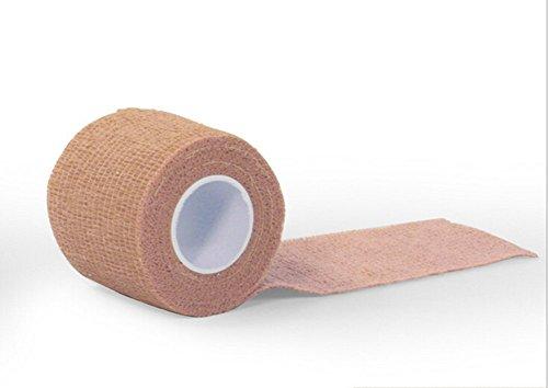 VI. yo Kinesiologie Tape Muskel Unterstützung Tape elastische für Sport Plantarfasziitis Knöchel tibiakantensyndrom Knie Ellenbogen Handgelenk Rücken Schulter Hals, 5cm * 5 m, braun