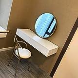 Tocador de maquillaje de pared Estante de la pared Estante flotante habitación sala Mesilla de noche armario de almacenamiento cosmética Estante de exhibición multifuncional ( Size : 80cm )