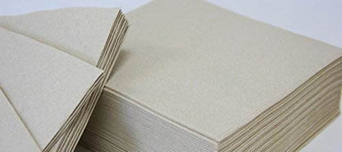 Servilletas 40 x 40 doble capa punta punta - Caja 1.200 unidades (Natural Ecologica)