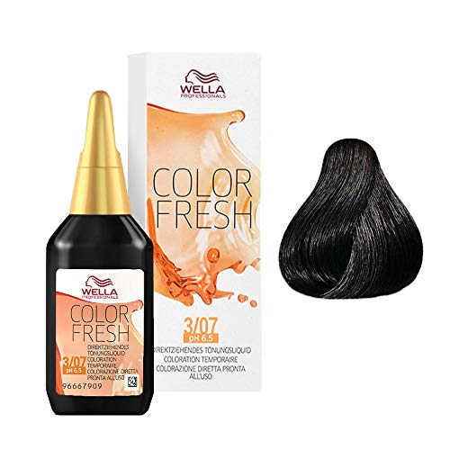 WELLA Color Fresh 3/07, Marrone Scuro, 75 Ml, 1 Ct