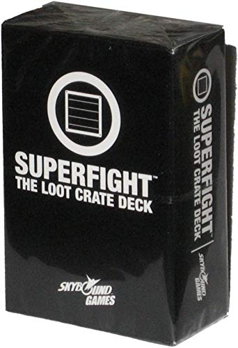 Superfight: The Loot Crate Deck Exclusive 100 Card Deck by Superfight