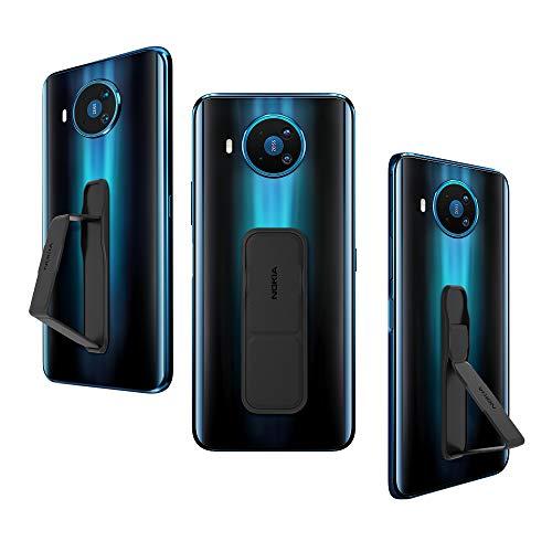Nokia Soporte de Teléfono Universal, Agarre Delgado y múltiples Modos de visualización para Nokia, iPhone, Samsung, Huawei, LG Teléfonos, Tabletas y Más, Negro
