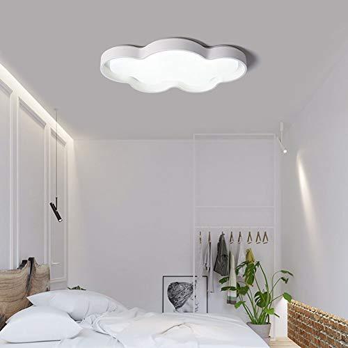 Dimbare LED Plafond Verlichting Cartoon Children's Room Lamp Met Afstandsbediening Acryl Plafondlamp Voor Slaapkamers Decoratie Gift Voor Kinderen,D warm,58CM